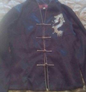 Блузка в японском стиле