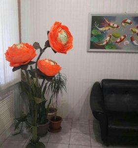 Цветочные композиции. Розы, пионы, астры