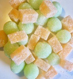 Сахарный скраб ручной работы