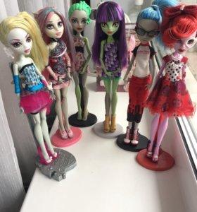 куклы монстр хай monster high монстер хай