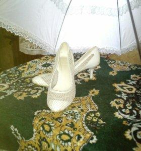 Свадебные туфли 40