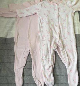 Боди-пижама, б/у