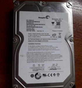 Жесткий диск Seagate 1.5 gb st31500341as