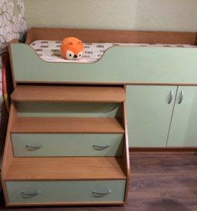 Детская кровать-чердак