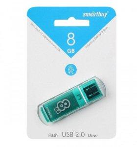 USB флеш-карта SmartBuy 8Гб Glossy series