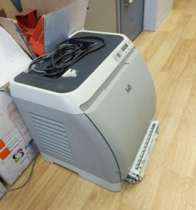 Лазерный цветной рабочий принтер HP Color Jet 1600