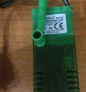 Погружной фильтр для аквариума, 3Вт, 200л/ч