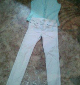 Летние джинсы и рубашка
