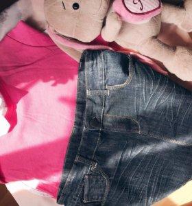 Юбка джинсовая для подростка