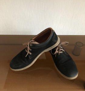 Туфли / полуботинки чёрные .