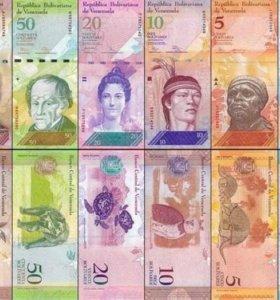 Венесуэла набор из 12 банкнот (UNC)