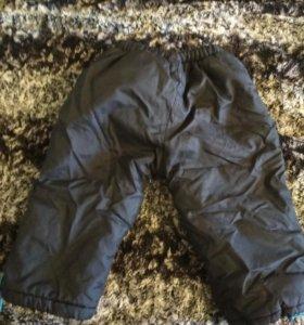 Болоневые зимние штаны с утеплителем