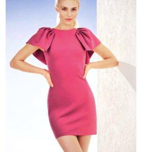 Платье цвета фуксия из Love Republic