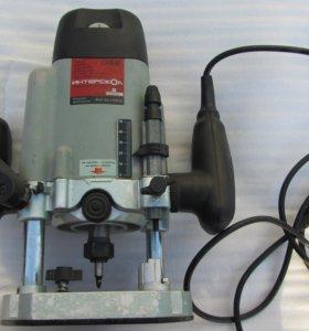 машина фрезерная интерскол фм-32/1900э