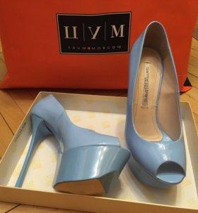 Туфли  женские итальянские кожаные