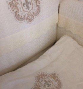 Бордюры в кроватку