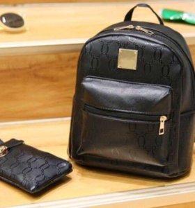 Рюкзак и кошелёк