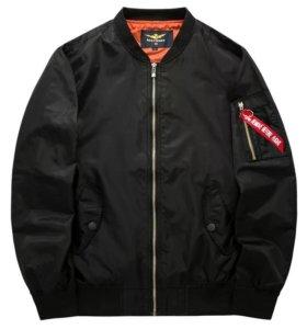 Куртка - бомбер 58-62р.
