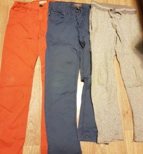 Брюки джинсы zara