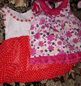 Платье летнее от 6 месяцев