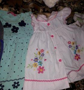 Платья от 7-9 месяцев