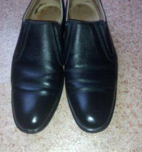 Мужские туфли кожные .