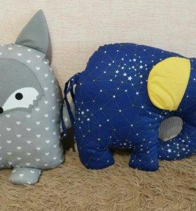 Подушки игрушки сплюшки