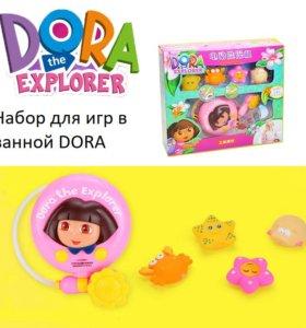Игрушка для ванной душ Дора и Обезьянка