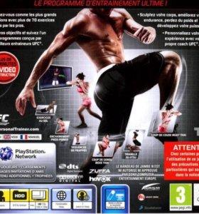 Игра на PS 3 UFC trainer
