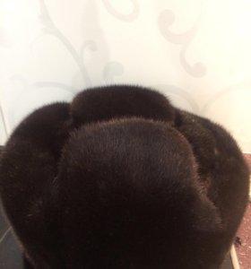 Норковая шапка размер 58-59