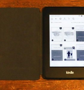 Kindle Paperwhite 2014 (6th Generation) + чехол
