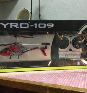 Вертолёт на пульте управления GYRO-109