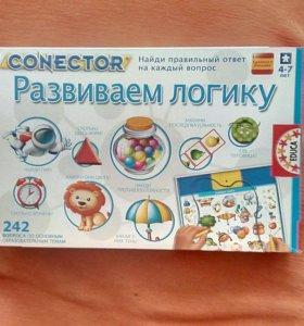 Развивающая игра для детей 4-7 лет