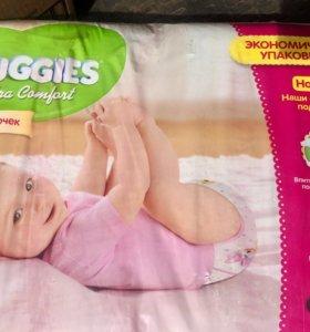 Подгузники Huggies UC 3 (5-9 кг) для девочек 80 шт