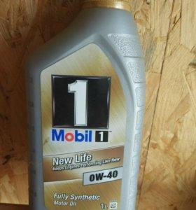 Масло Mobil 1 1л синтетика