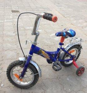 Велосипед«человек паук»