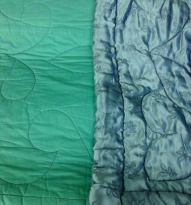Атласное ватное одеяло