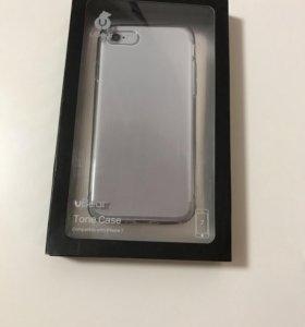 Чехол защитный силиконовый для IPhone7