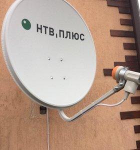 Комплект спутникового тв НТВ ПЛЮС
