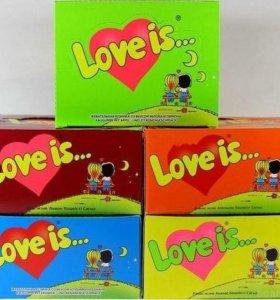 Жвачку Love is