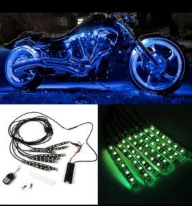 Светодиодная постветка на мотоцикл