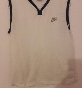 Футболка Nike белая,46-48