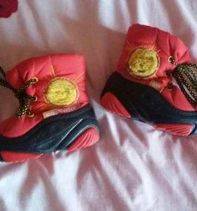 Обувь Демары на зиму