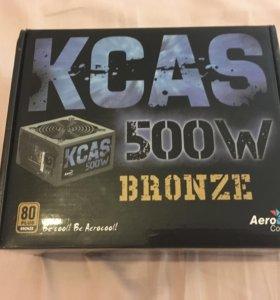 Блок питания на 500W Aerocool KCAS