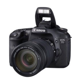 Canon 7D kit  ЕF 18-135mm
