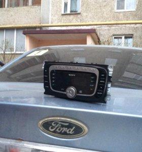магнитола sony на ford focus 2