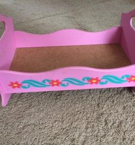 Кроватка для Куклы Беби Бона