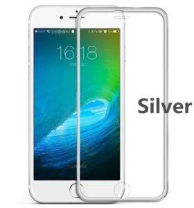 защитные 3D , 2,5D стекла для айфонов