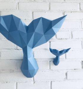 Фигура хвост кита