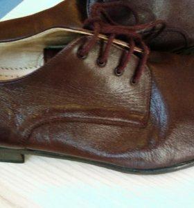 Туфли мужские кожаные Италия